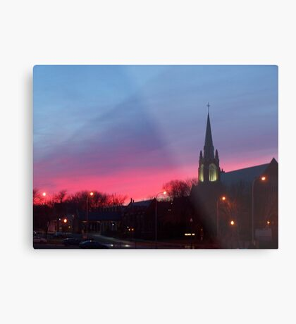 Twilight Sanctuary Metal Print