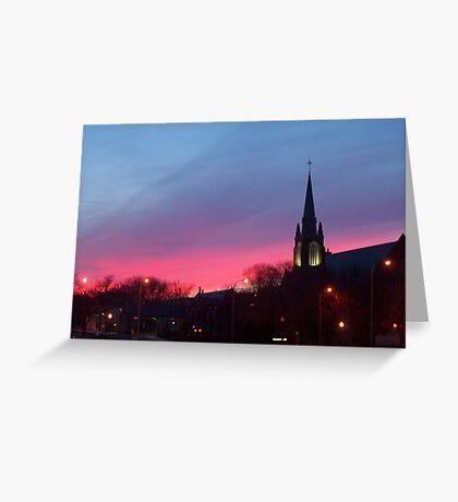 Twilight Sanctuary Greeting Card