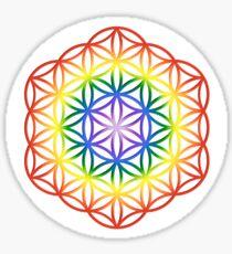 Chakra Flower of Life Sacred Geometry 1 Sticker