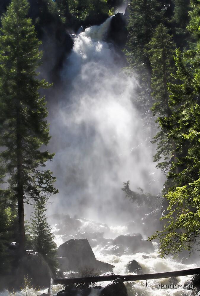 Tumbling Waterfall by Don Schwartz