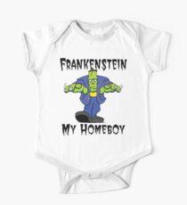 """Halloween """"Frankenstein Is My Homeboy"""" T-Shirt One Piece - Short Sleeve"""