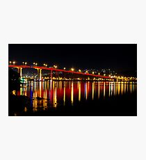 Red Bridge Photographic Print