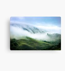 Morning Fog on Mission Peak Canvas Print