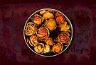 Box of Dried Roses by LaRoach