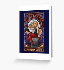 Chosen Girl Greeting Card