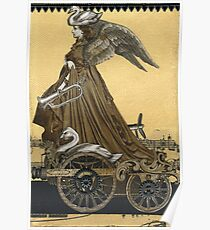 Magic Masquerade Train - Boudicca Poster