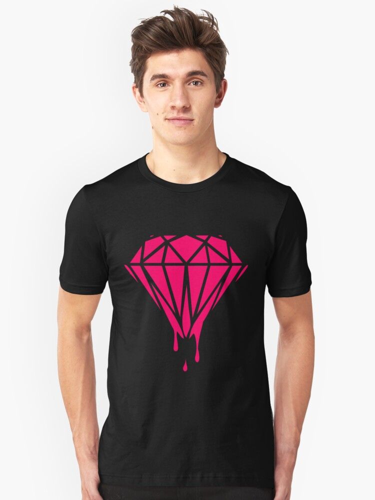 Neon Dripping Diamond by beone