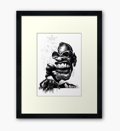 Ray Framed Print