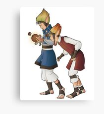 Power Cell Canvas Print