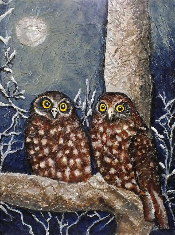 Owl Moon by Anni Morris
