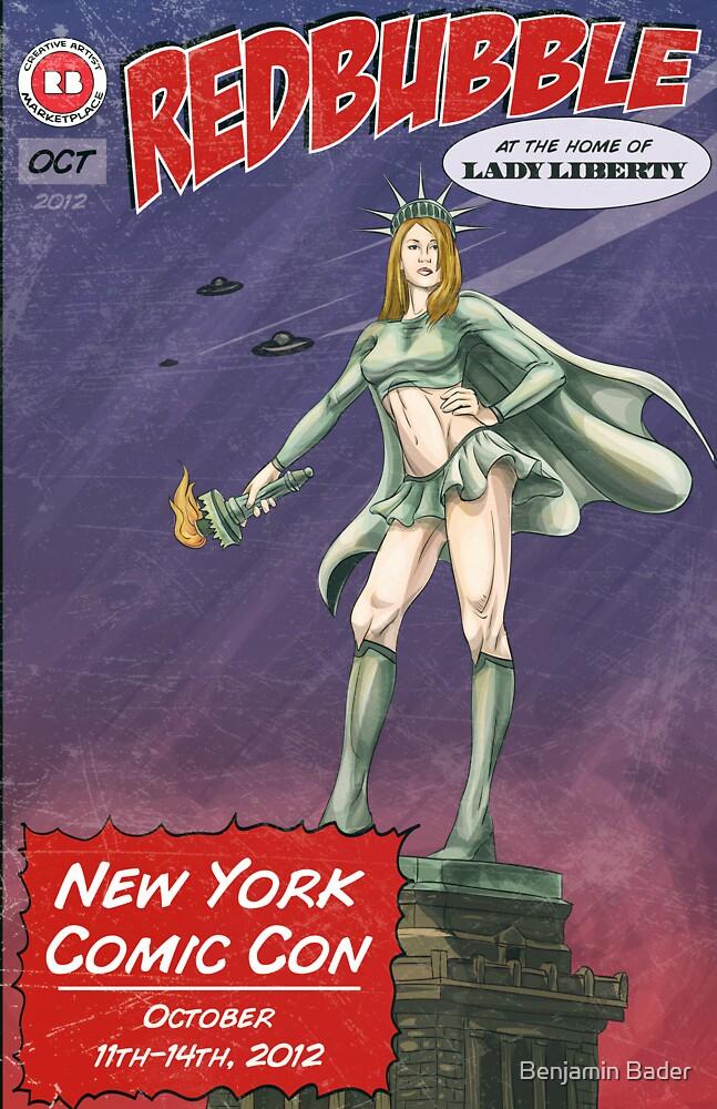 Redbubble at New York Comic Con 2012 by Benjamin Bader