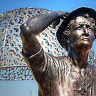 HMAS Sydney Memorial Geraldton # 12  by Eve Parry