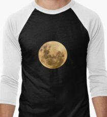 Moon on the man Men's Baseball ¾ T-Shirt