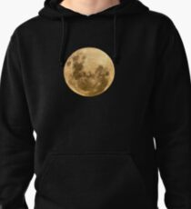 Moon on the man Pullover Hoodie