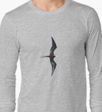 Galapagos Frigate in flight Long Sleeve T-Shirt
