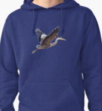 Great Blue Heron Pullover Hoodie