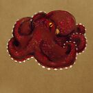 Coconut Octopus by Jenji