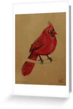 Cardinal by Jenji