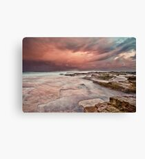 Chalky Beach Canvas Print