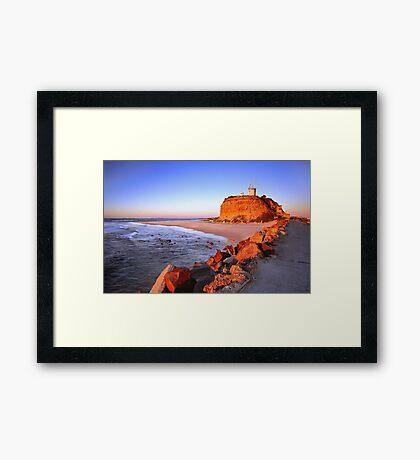 Nobbys Sunrise Framed Print