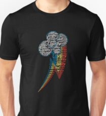 Rainbow dash Text T-Shirt