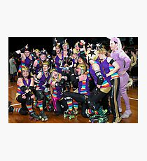 Winners are Grinners | Team Unicorn Champions | 2012 Photographic Print