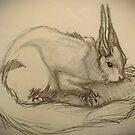 Squirrelish Sketch by Jaide Cameron