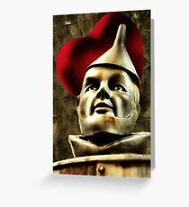 Tin Man Greeting Card