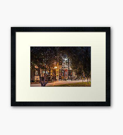 The Albion Framed Print