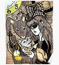 Steampunk Alice Poster