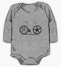 Fixie Bike One Piece - Long Sleeve