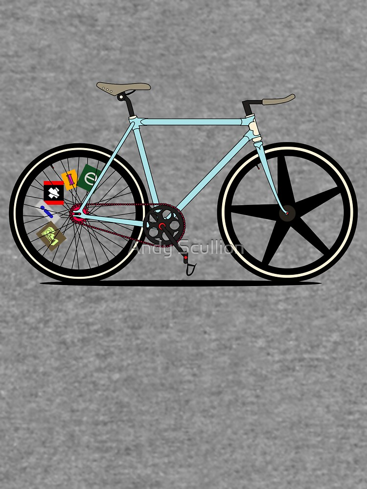 Fixie Bike by AndyScullion