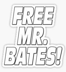 Free Mr. Bates Downton Abbey Sticker