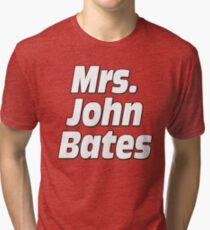Mrs. John Bates Downton Abbey Tri-blend T-Shirt