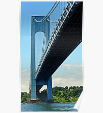 Verrazano Bridge Poster
