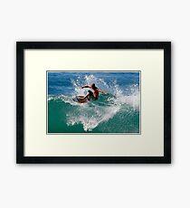 Float The Boat Framed Print
