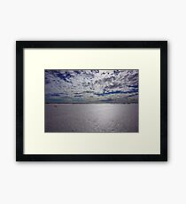 Desolate.. Framed Print