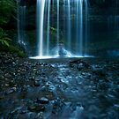 Russell Falls by Peter Hodgson