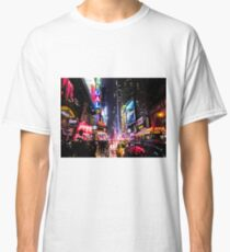 New York City Night Classic T-Shirt