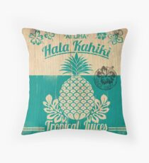 S/S 2015 - Pineapples - Hala Kahiki Juice Stand Throw Pillow