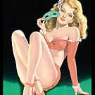 Tasty Pinup Girl Unmasked by Tasty Clothing