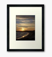 Sunset at Sugarloaf Point, Australia Framed Print