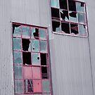 Broken Windows, Peterborough Railway Museum, South Australia by Adrian Paul