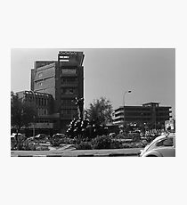 BW Iraq baghdad fountain 1970s Photographic Print