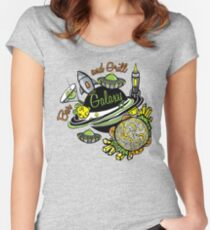 Galaxy Bar & Grill Women's Fitted Scoop T-Shirt