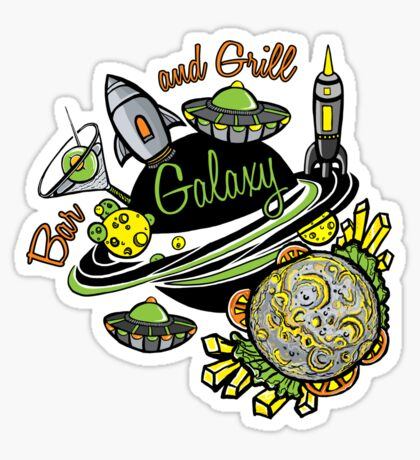 Galaxy Bar & Grill Sticker