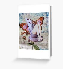 Pinup Girls: Veronica Greeting Card