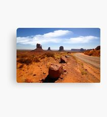 The Road In Canvas Print