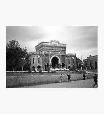 BW Turkey Istanbul University 1970s Photographic Print