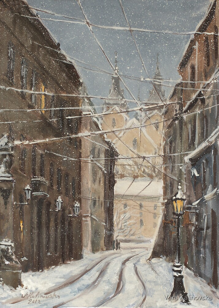 February Study by Vira Kalinovska